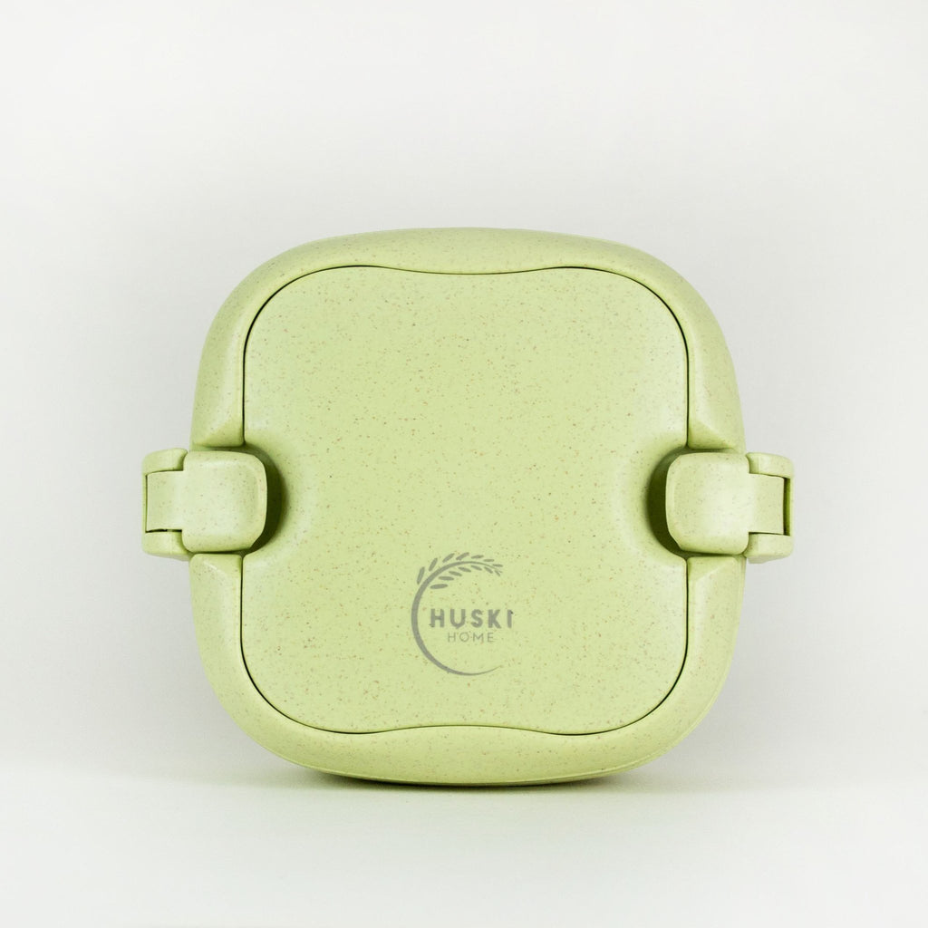Eco-friendly rice husk lunch box