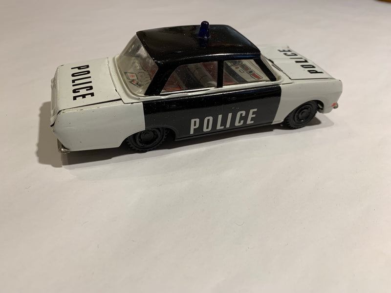 Vintage Deco Police car cruiser toy