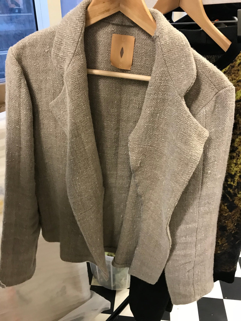 Heavy Linen Pyjama Jacket