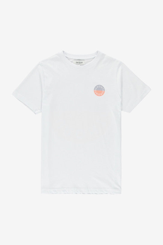 Island T-Shirt White, Clothing Men, Ontour - Six and Sons