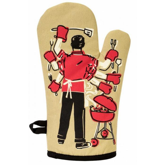 Feed All You Fuckers Oven Mitt