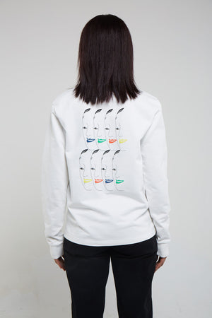 Many Faces II Sweater