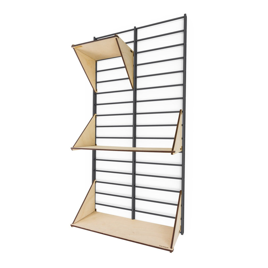 "Sustainable wall rack FENCY - ""S"" (80x40 cm)"