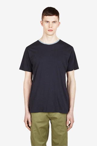 T-shirt League Navy, Clothing Men, Ontour - Six and Sons