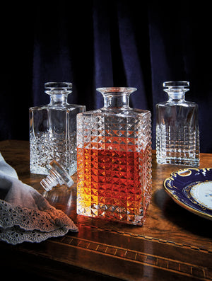 Whisky Decanter with Glass Stopper Charme 750ml