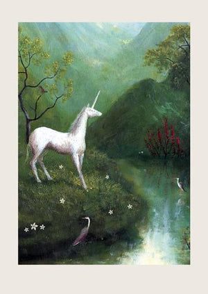 UNICORN ART CARD