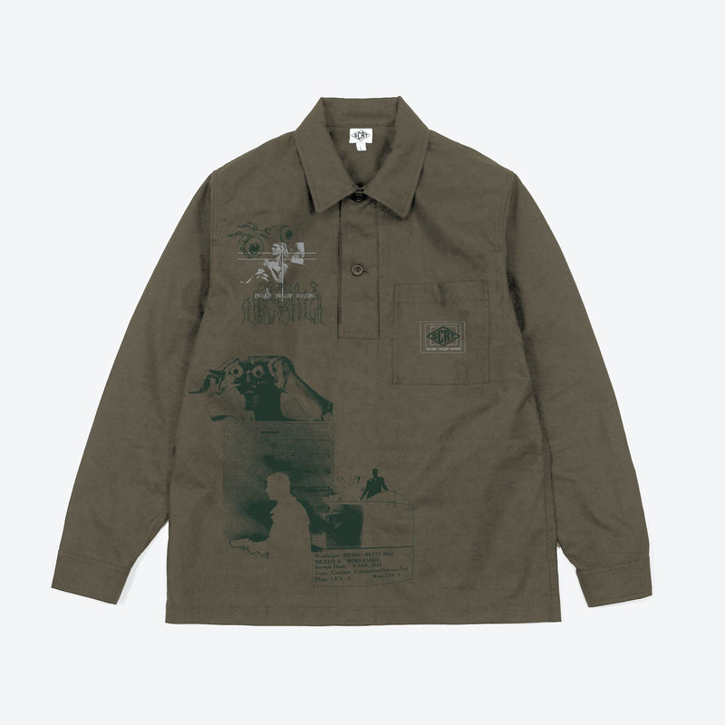 Off World Pullover Brown