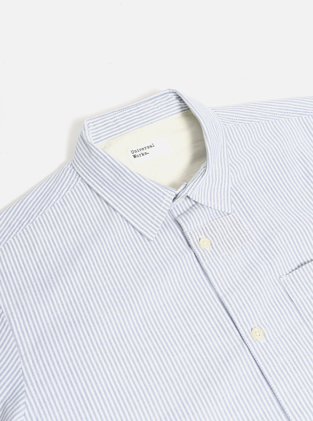 Navy Stripe Patch Shirt