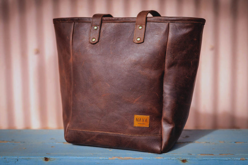 Tote Handbag Diesel Brown Leather