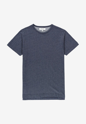 Point T-Shirt Blue Navy, Clothing Men, Ontour - Six and Sons