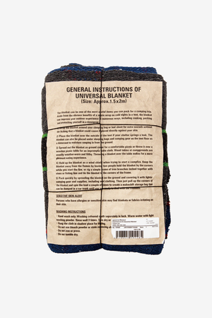 Universal Blanket Navy, Textiles, Puebco - Six and Sons