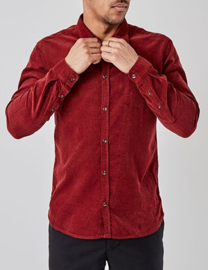 Pacific Shirt Dusty Red