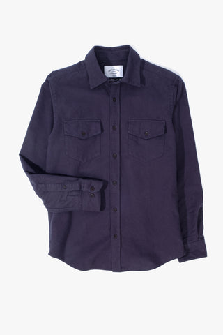 Campo Navy Shirt, Clothing Men, Portugese Flannel - Six and Sons