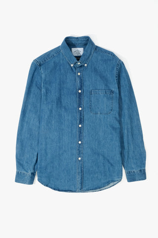 Ganga 2W denim shirt, Clothing Men, Portugese Flannel - Six and Sons