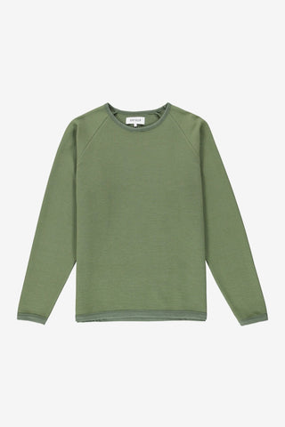 Ripple Sweatshirt Moss, Clothing Men, Ontour - Six and Sons