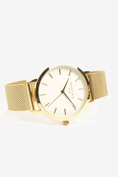Mercer White Gold, Watches, Rosefield - Six and Sons