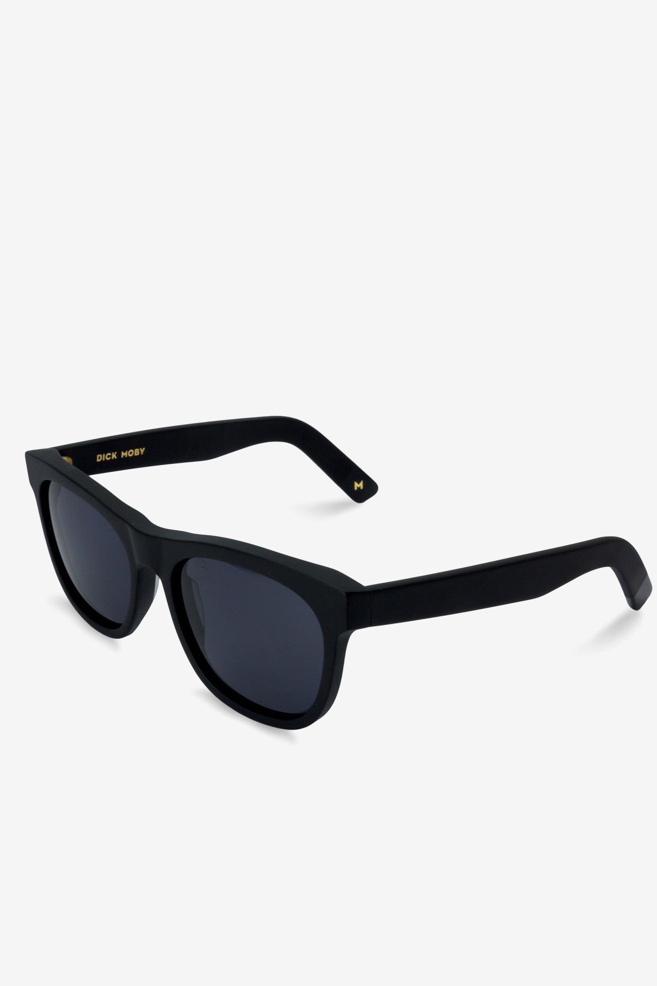 LAX Matte Recycled Black, Sunglasses, Dick Moby - Six and Sons