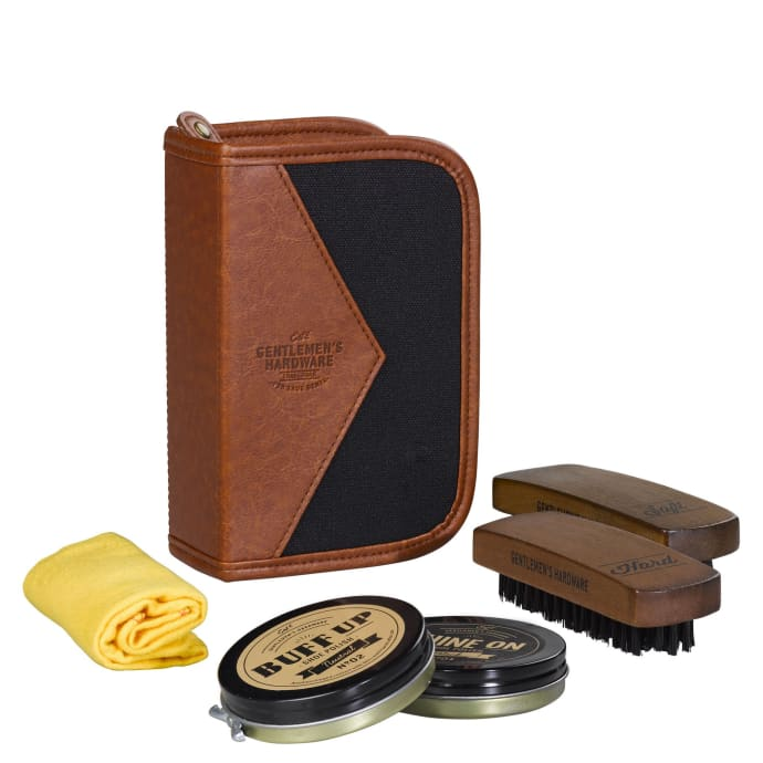 Shoe Shine Kit Buff Up