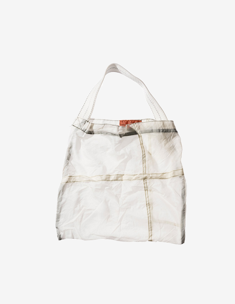 VINTAGE PARACHUTE LIGHT BAG WHITE