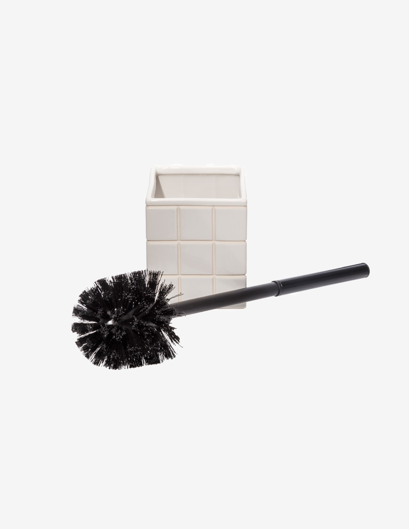 CERAMIC BATH TOILET BRUSH