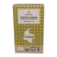Chocolate Banana, coated with organic chocolate (65%), 50g