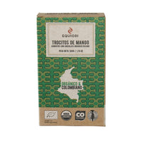 Chocolate Mango chips coated with organic chocolate (65%), 50g
