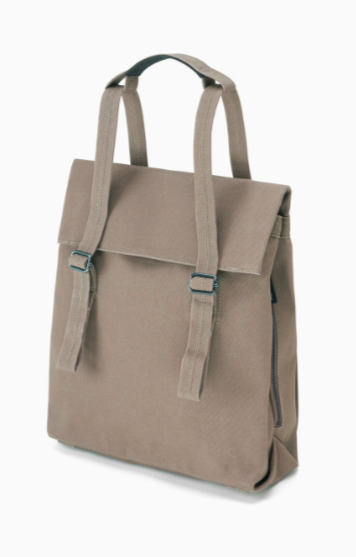 Small Tote Vegan Driftwood - 100% organic cotton
