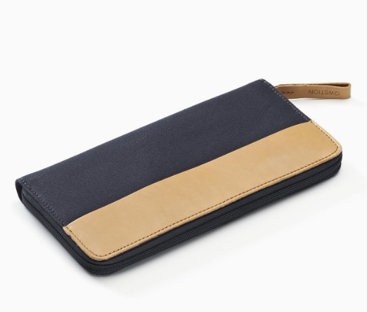 Travel Wallet Organic Navy