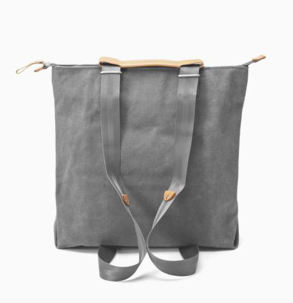 Simple Zipshopper Washed Grey