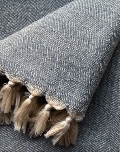 Wool Throw Merino - Grey