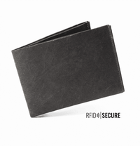 Wallet RFID Secure - Neon Green/Yellow