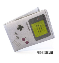 Wallet RFID Secure - Game, Boy!
