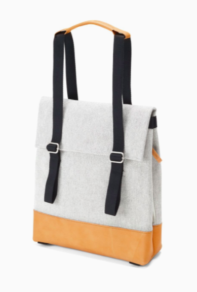 Small Tote Raw Blend Natural Leather