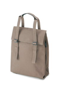 Halfday Tote Vegan Driftwood - 100% organic cotton