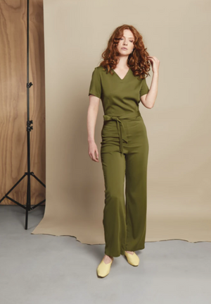 Influence Khaki Jumpsuit