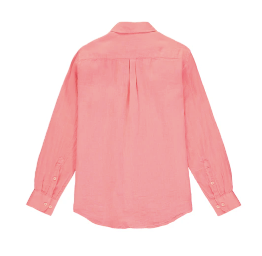Abaco Linen Shirt - Watermelon