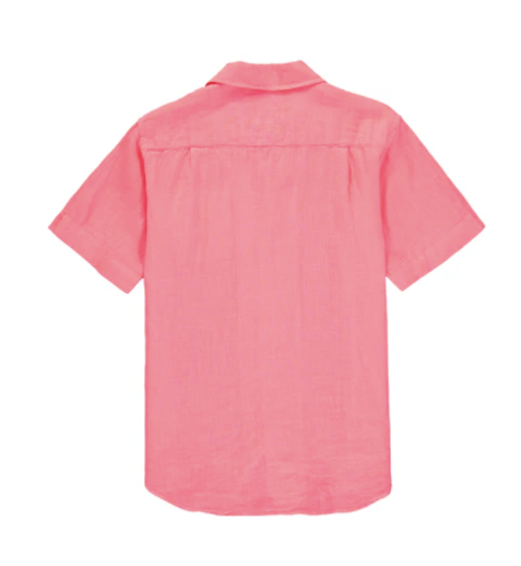 Arawak Linen Shirt - Watermelon