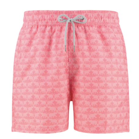 Staniel Swim Short - Elephant Dance Pink