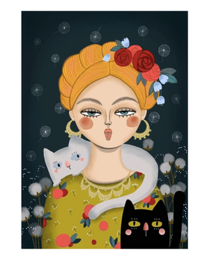 Lady and her cats n°2 A4