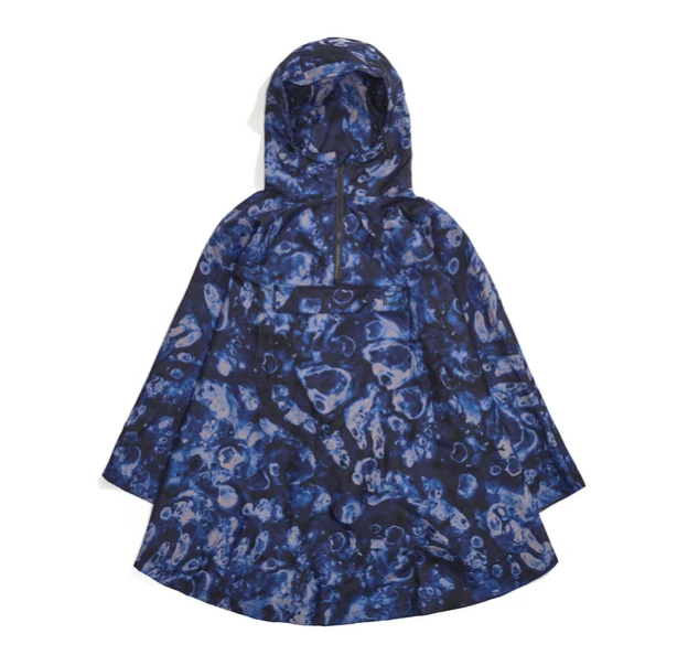 Poncho Midnight Ocean