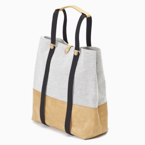 Shopper Organic Raw Blend Natural Leather
