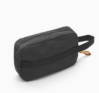 Toiletry Kit Organic Washed Black