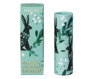 Folklore Lip Balm - Minty Elderflower