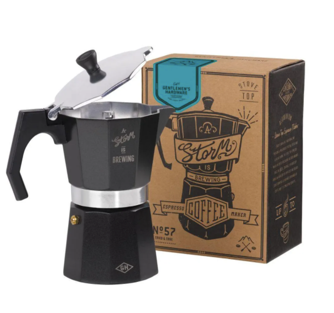Storm is brewing Espresso Coffee Maker