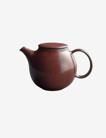Pebble teapot 500ml brown