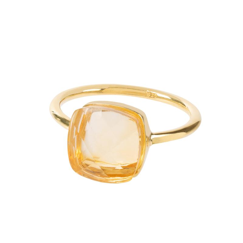 Sophia Citrine Ring