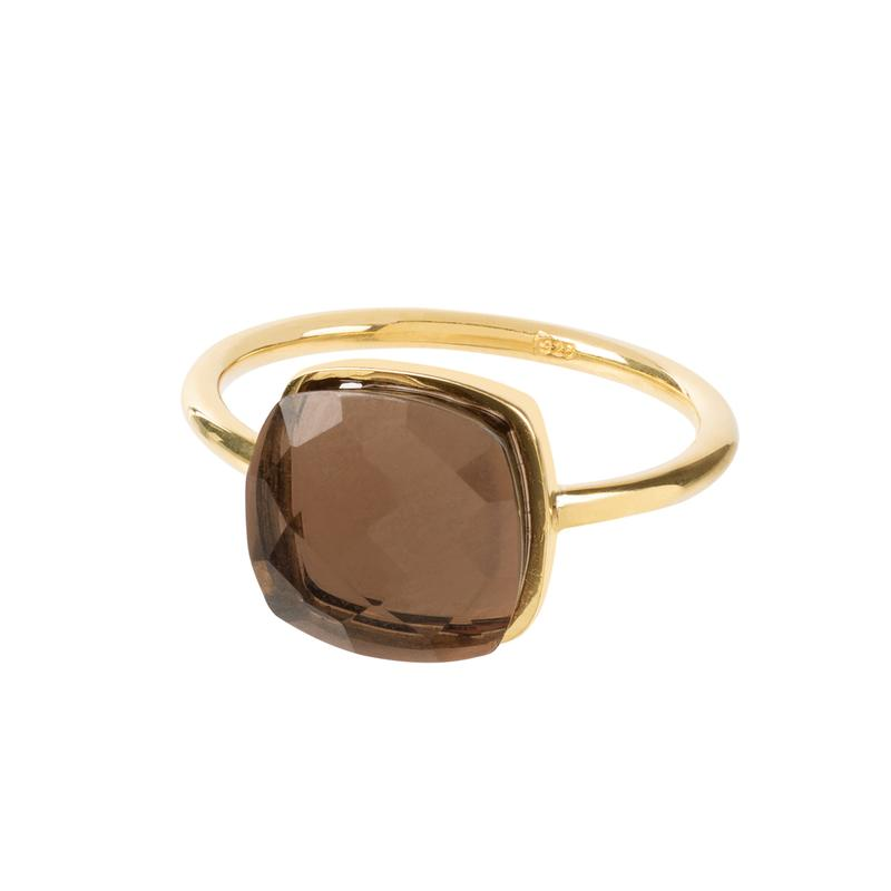 Sophia Smokey Quartz Ring