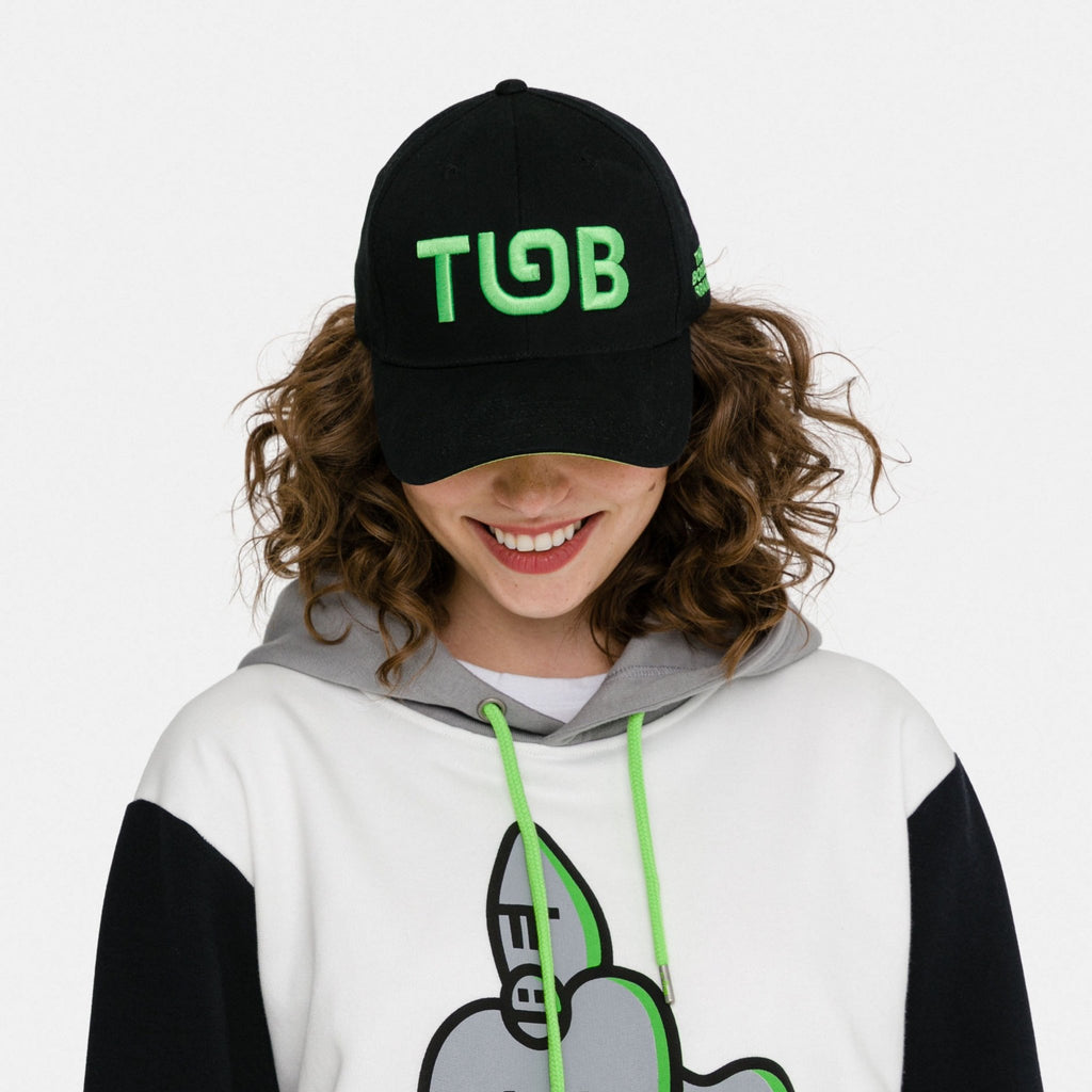 Adult Black TGB Cap (Unisex)