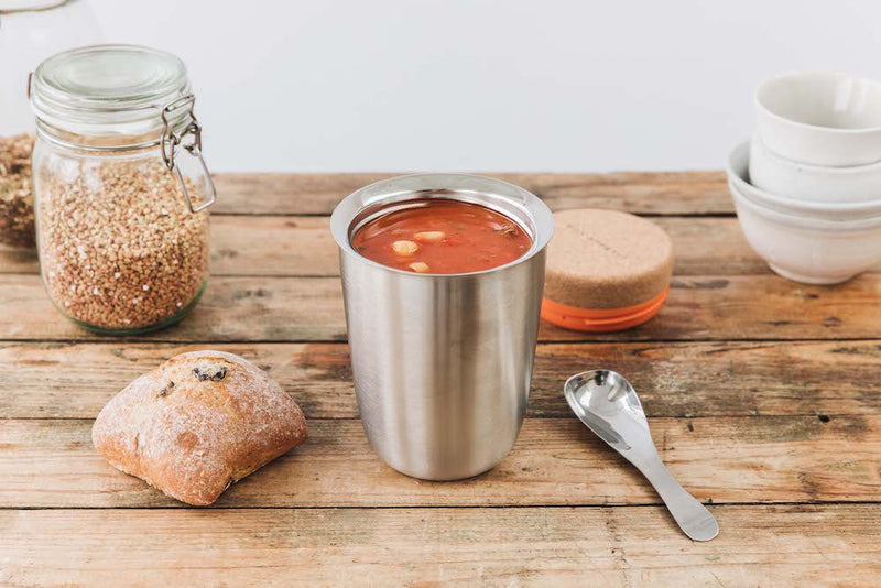 Double-walled Lunchpot in Stainless Steel 550ml
