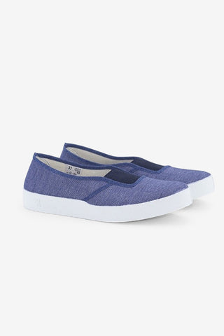 Elastic Blue / White, Shoes Women, Oli13 - Six and Sons